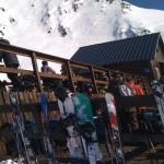 pyrénées peyragudes restaurant altitude sur les pistes de ski