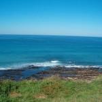 ocean atlantique falaise de la corniche au pays basque