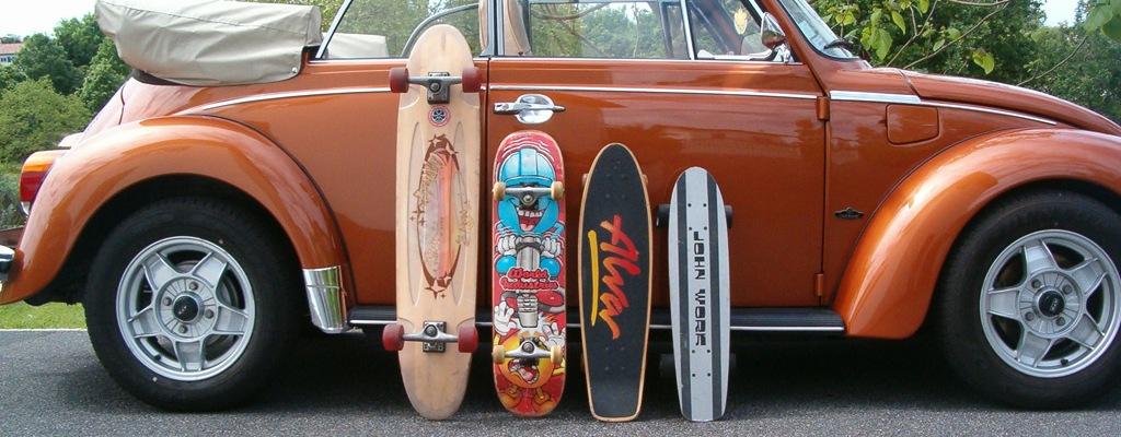 quiver de skateboards