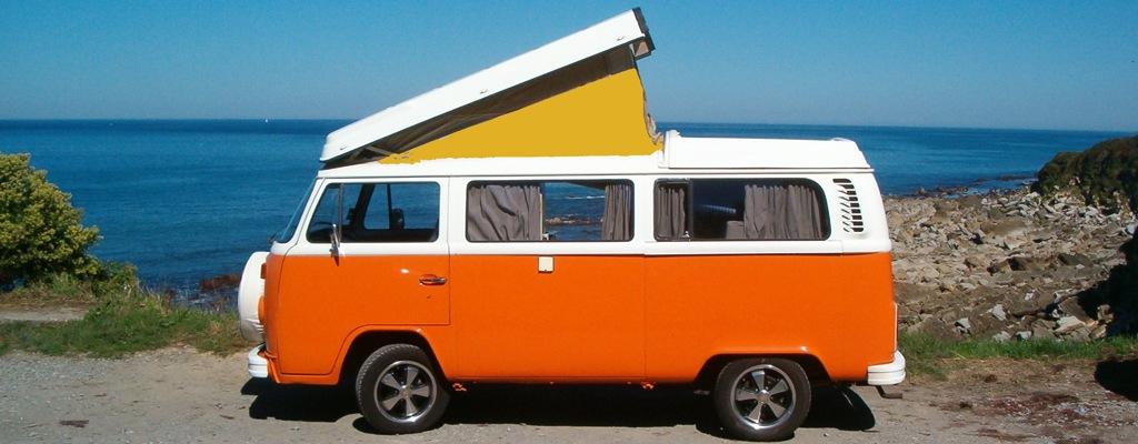 vw camper van Westfalia avec rehausse et ocean