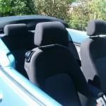 vw new beetle cabriolet interieur sieges et banquette