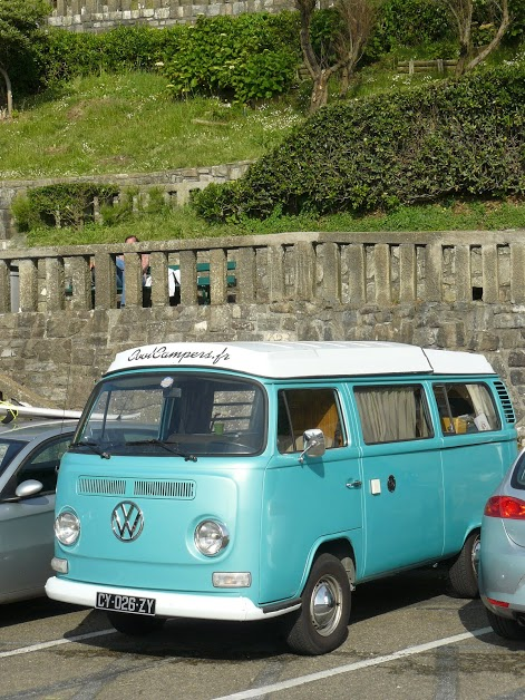 Coolcampers Vw Combi Surftrip Biarritz Cote Basque